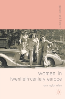 Image for Women in twentieth-century Europe