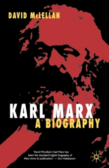 Image for Karl Marx  : a biography