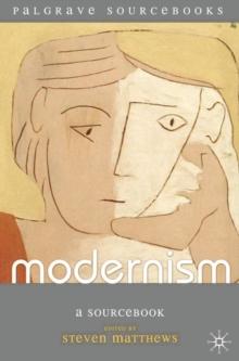 Image for Modernism  : a sourcebook