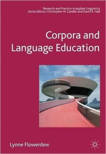 Image for Corpora and language education