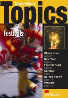 Image for Macmillan Topics Festivals Elementary Reader