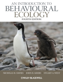 Image for An introduction to behavioural ecology