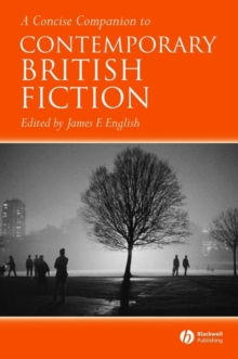 Image for A concise companion to contemporary British fiction