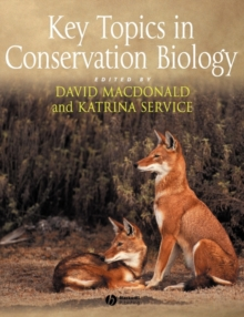 Image for Key topics in conservation biology