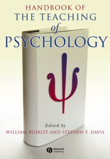 Image for Handbook of the teaching of psychology