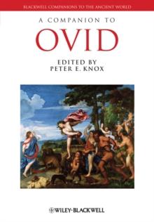 Image for A companion to Ovid