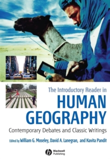 Image for The introductory reader in human geography  : contemporary debates and classic writings