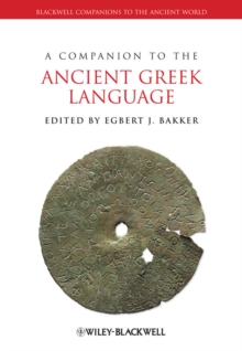 Image for A companion to the ancient Greek language