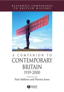 Image for A companion to contemporary Britain, 1939-2000