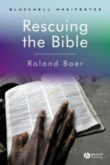 Image for Rescuing the Bible