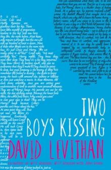 Two boys kissing - Levithan, David