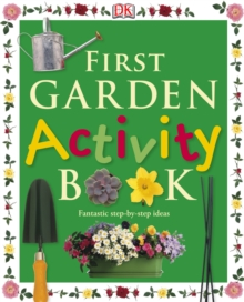 First garden activity book. -
