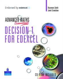 Image for A Level Maths Essentials Decision 1 for Edexcel Book