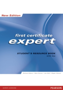 Image for First certificate expert: Student's resource book with key