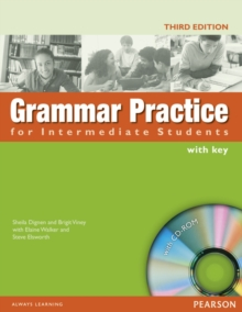 Image for Grammar practice for intermediate students  : with key
