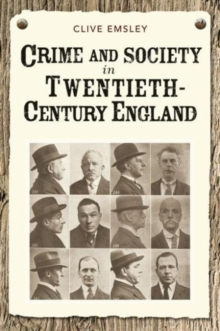 Image for Crime and society in twentieth century England