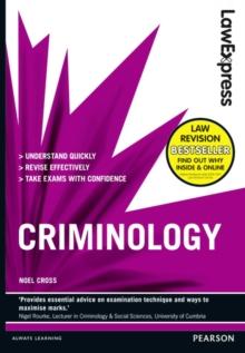 Criminology - Cross, Noel