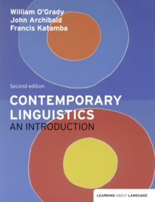 Image for Contemporary linguistics  : an introduction