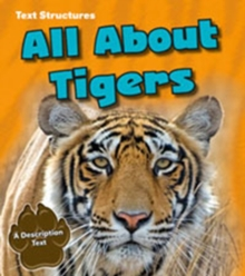 Image for All about tigers  : a description text