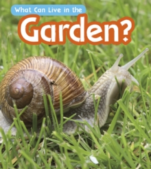 What can live in the garden? - Wilkins, John-Paul