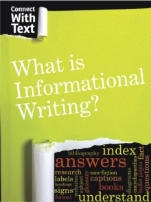 Image for What is informational writing?