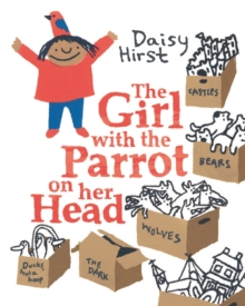 Image for The girl with the parrot on her head