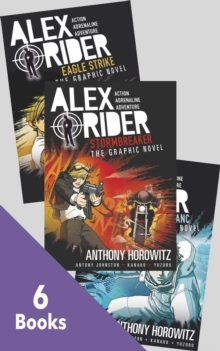 Alex Rider Graphic Novels Collection - 6 Books -