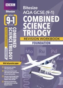 AQA GCSE (9-1) combined science - trilogyFoundation,: Workbook -