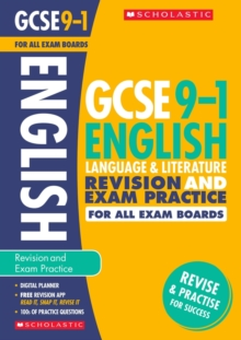 Image for English language and literature: Revision and exam practice book for all boards