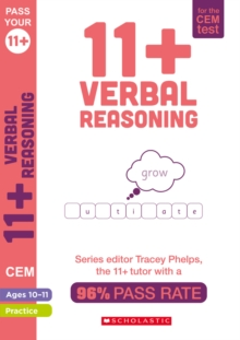 11+ Verbal Reasoning Practice and Assessment for the CEM Test Ages 10-11