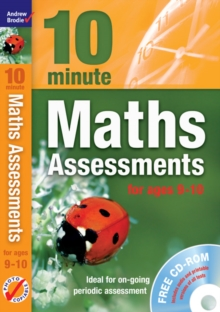 Image for 10 minute maths assessments: For ages 9-10