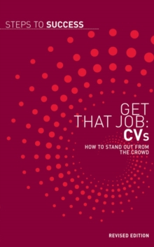 Image for Get that job: CVs :