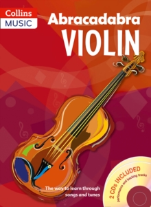 Image for Abracadabra violin  : the way to learn through songs and tunesBook 1