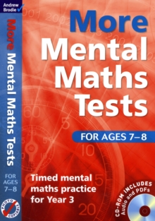 Image for More mental maths tests for ages 7-8  : timed mental maths practice for Year 3