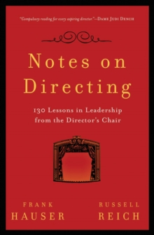 Image for Notes on directing  : 130 lessons in leadership from the director's chair