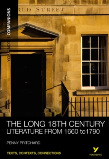 Image for The long 18th century  : literature, 1660 to 1790