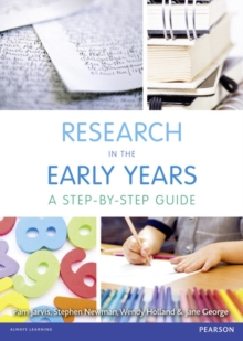 Image for Research in the early years  : a step-by-step guide