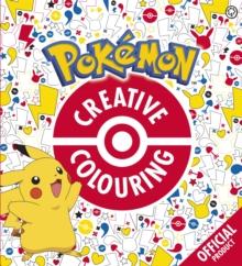 Official Pokemon Creative Colouring