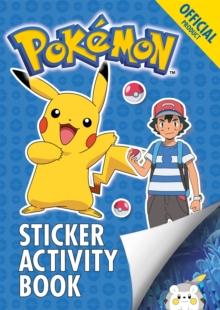 Official Pokemon Sticker Activity Book