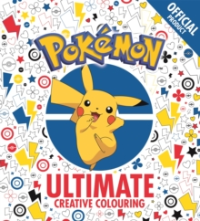 Official Pokemon Ultimate Creative Colouring