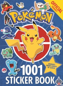 Image for The Official Pokemon 1001 Sticker Book