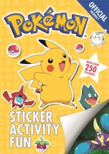 Official Pokemon Sticker Activity Fun