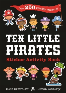 Image for Ten Little Pirates Sticker Activity Book