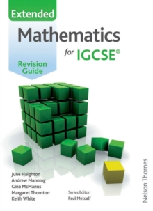 Image for Mathematics for IGCSE: Extended revision guide