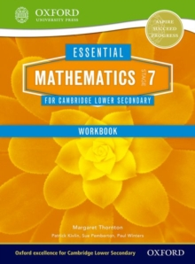 Image for Mathematics for Cambridge secondary 1Stage 7,: Work book