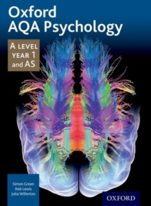 Image for Oxford AQA psychologyA level Year 1 and AS