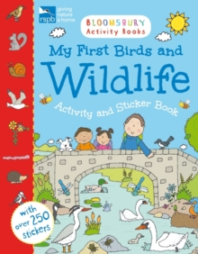 RSPB My First Birds and Wildlife Activity and Sticker Book - Abbott, Simon