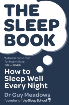 Image for The sleep book  : how to sleep well every night