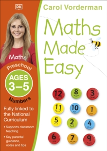 Image for Maths made easyPreschool ages 3-5: Numbers
