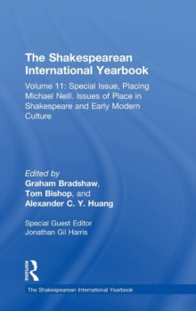 Image for The Shakespearean international yearbookVolume 11,: Special issue